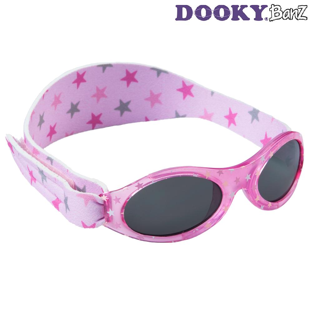 Laste päikeseprillid DookyBanz Pink Stars
