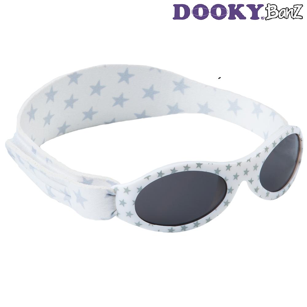 Laste päikeseprillid DookyBanz Silver Stars