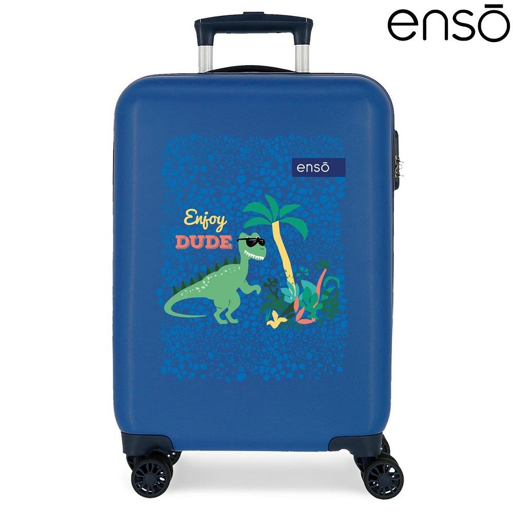 Laste reisikohver Enso Dino Space ABS