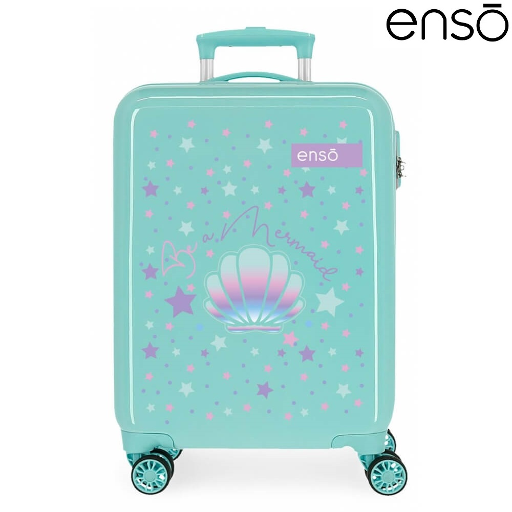Laste kohver Enso Mermaid ABS