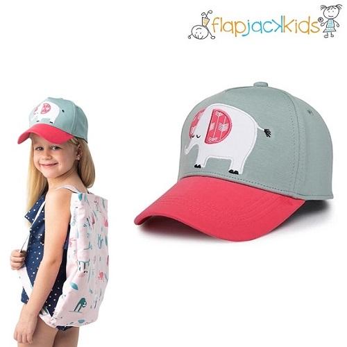 Laste nokamüts FlapJackKids Pink Elephant