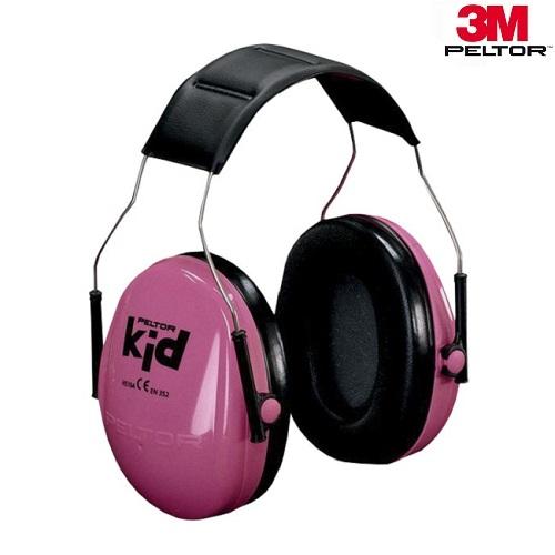 Hörselkåpor för barn 3M Peltor Kid rosa