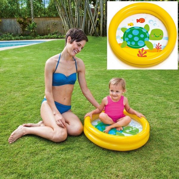 Laste bassein täispuhutav Intex My First Pool Kollane
