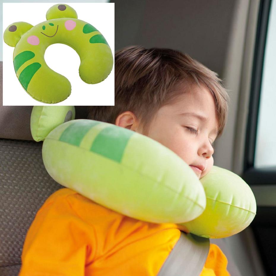 Täispuhutav kaelapadi lapsele Intex Konn Roheline