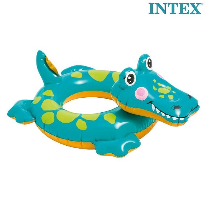 Ujumisrõngas Intex Krokodill