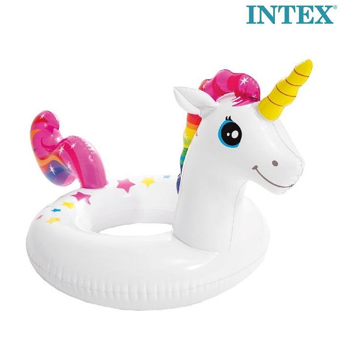Ujumisrõngas Intex Unicorn