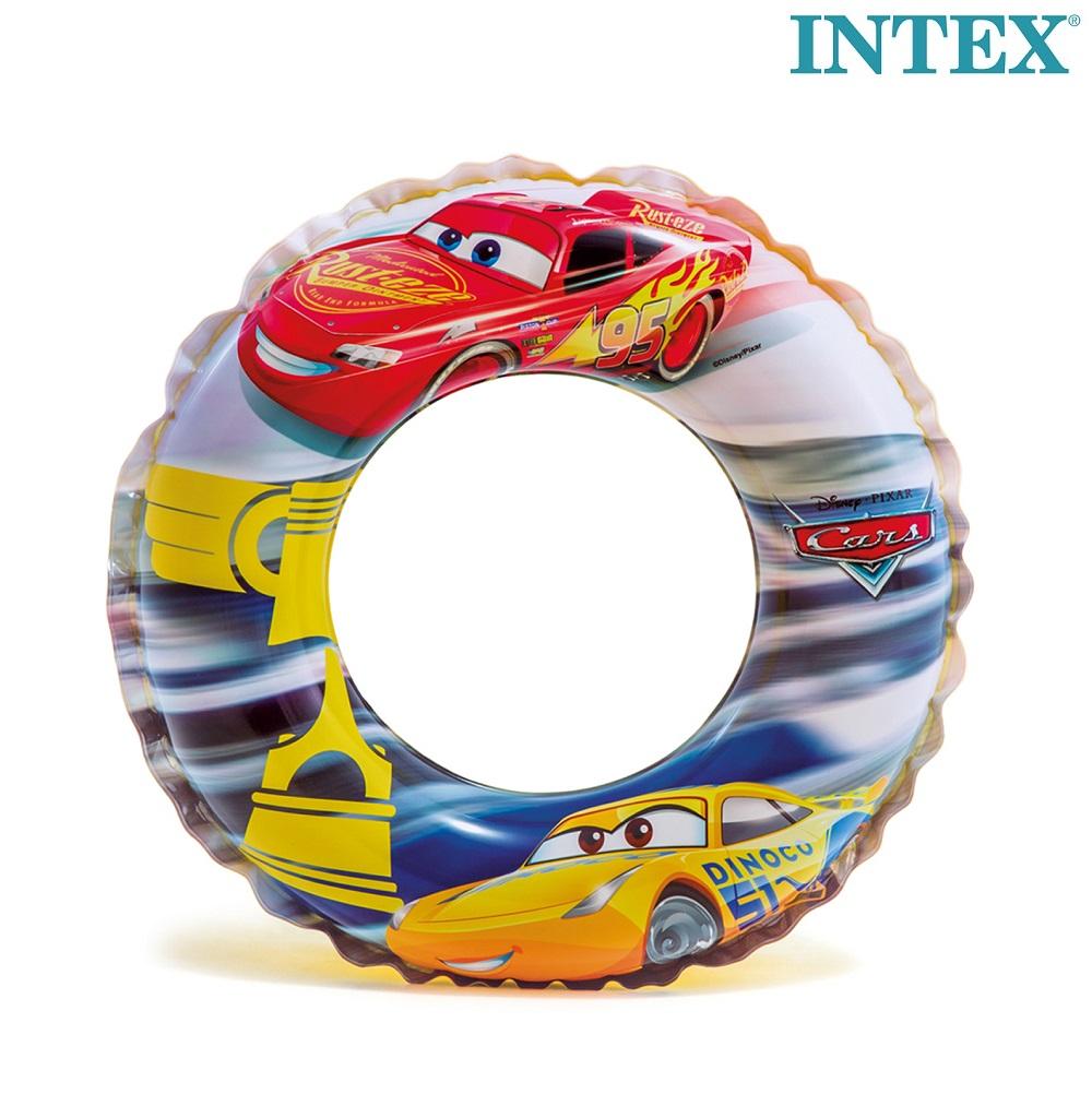 Ujumisrõngas Intex Cars