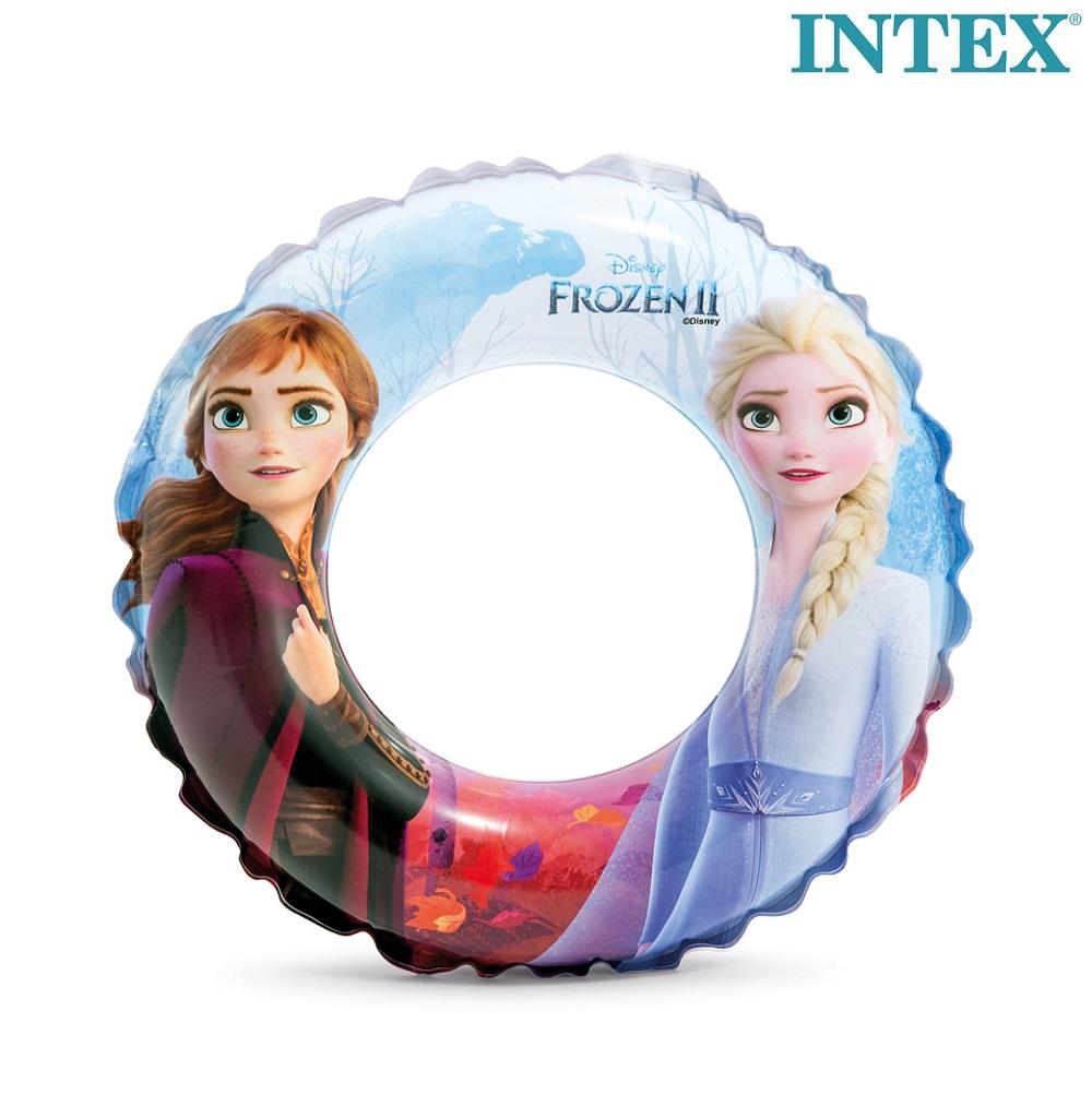 Ujumisrõngas Intex Frozen