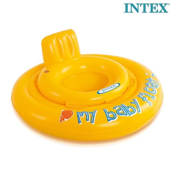 Ujumisrõngas beebile Intex Baby Float 0-1 a. Kollane