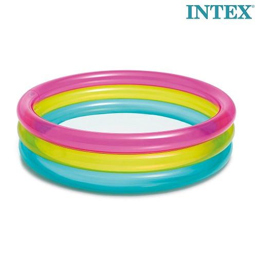 Laste bassein täispuhutav Intex Rainbow