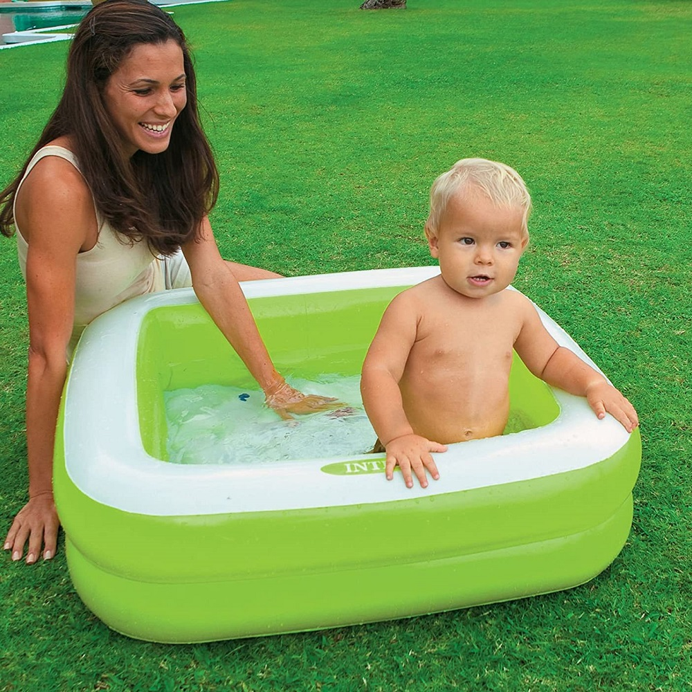 Laste bassein täispuhutav Intex Roheline