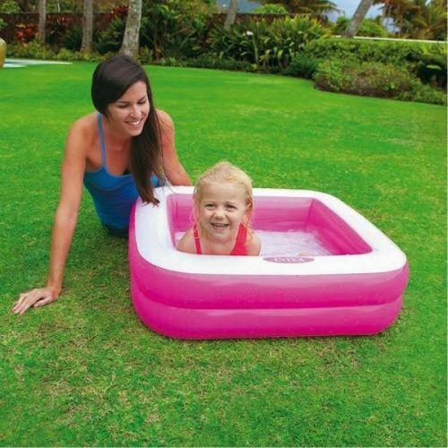 Laste bassein täispuhutav Intex Roosa