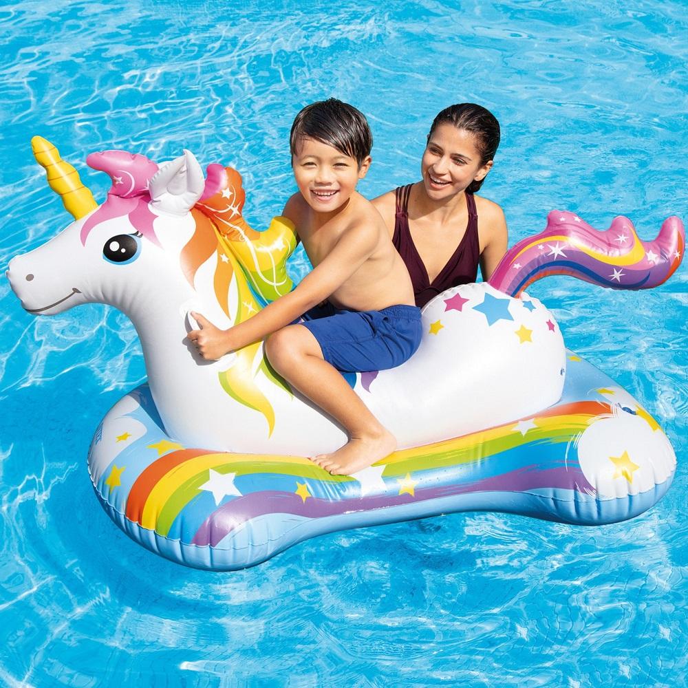 Laste ujumismadrats XL Intex Ükssarvik