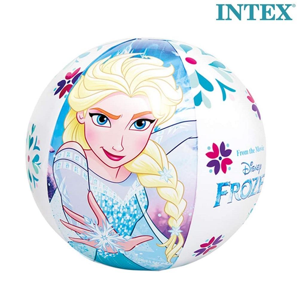 Laste täispuhutav rannapall Intex Frozen