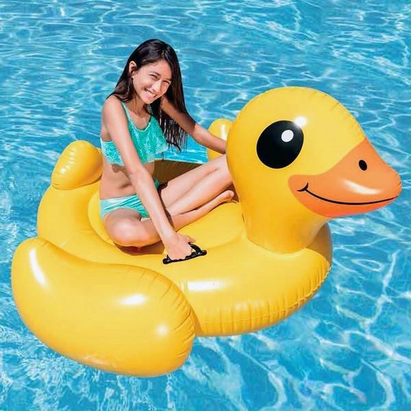 Uppblåsbart baddjur XL Intex Anka