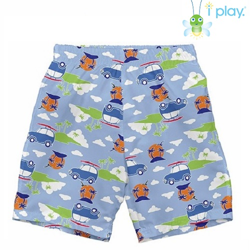 IPlay Diaper Boardshorts