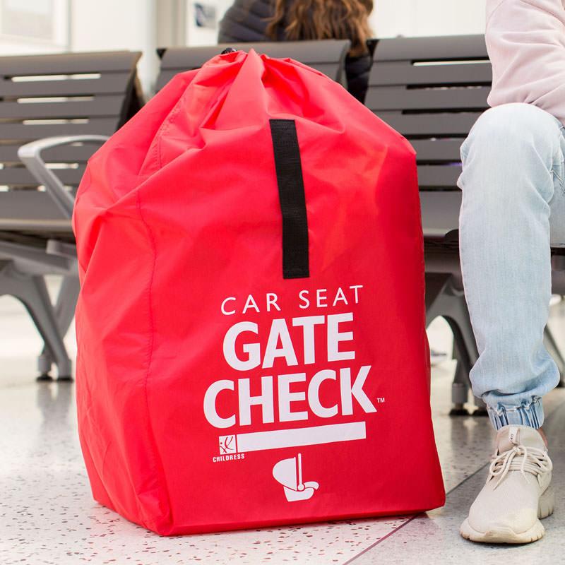 Transportväska bilbarnstol JL Childress Gate Check röd