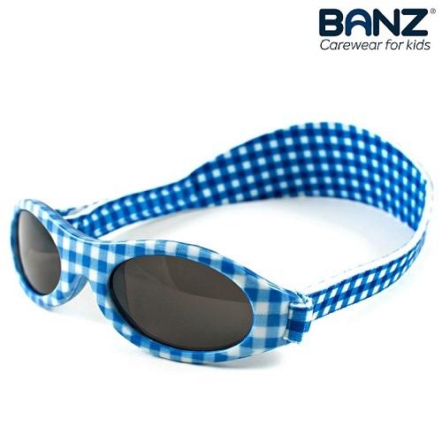 Laste päikeseprillid KidzBanz Blue Checkers