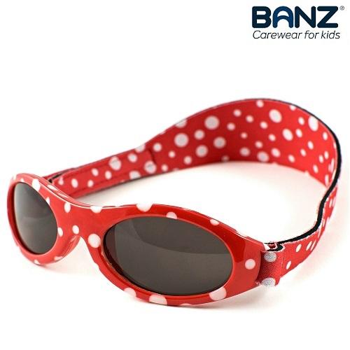 Laste päikeseprillid KidzBanz Red Dots