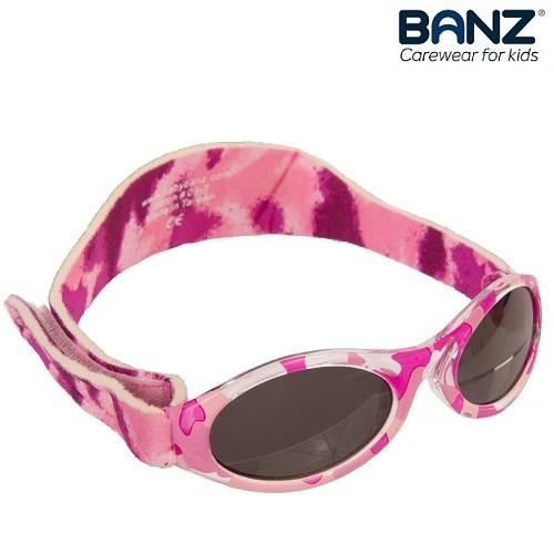 Laste päikeseprillid KidzBanz Pink Camo