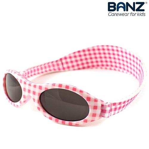 Laste päikeseprillid KidzBanz Pink Checkers