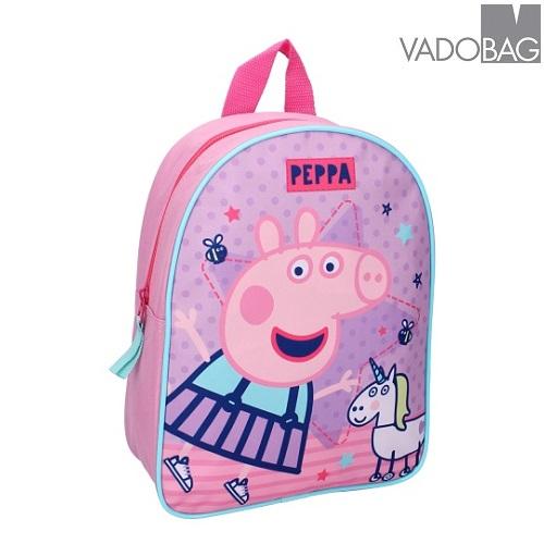 Barnryggsäck Peppa Pig One Big Party rosa