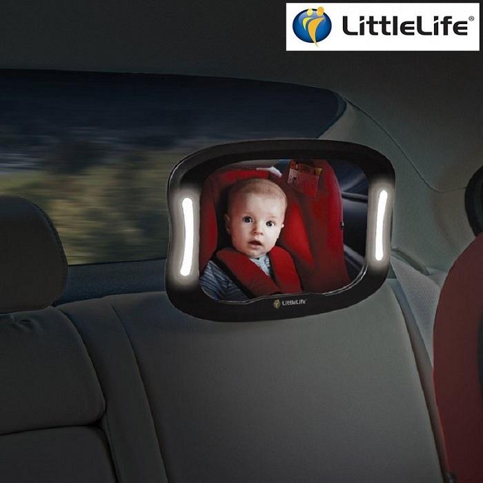 Autopeegel Littlelife Light Up Mirror