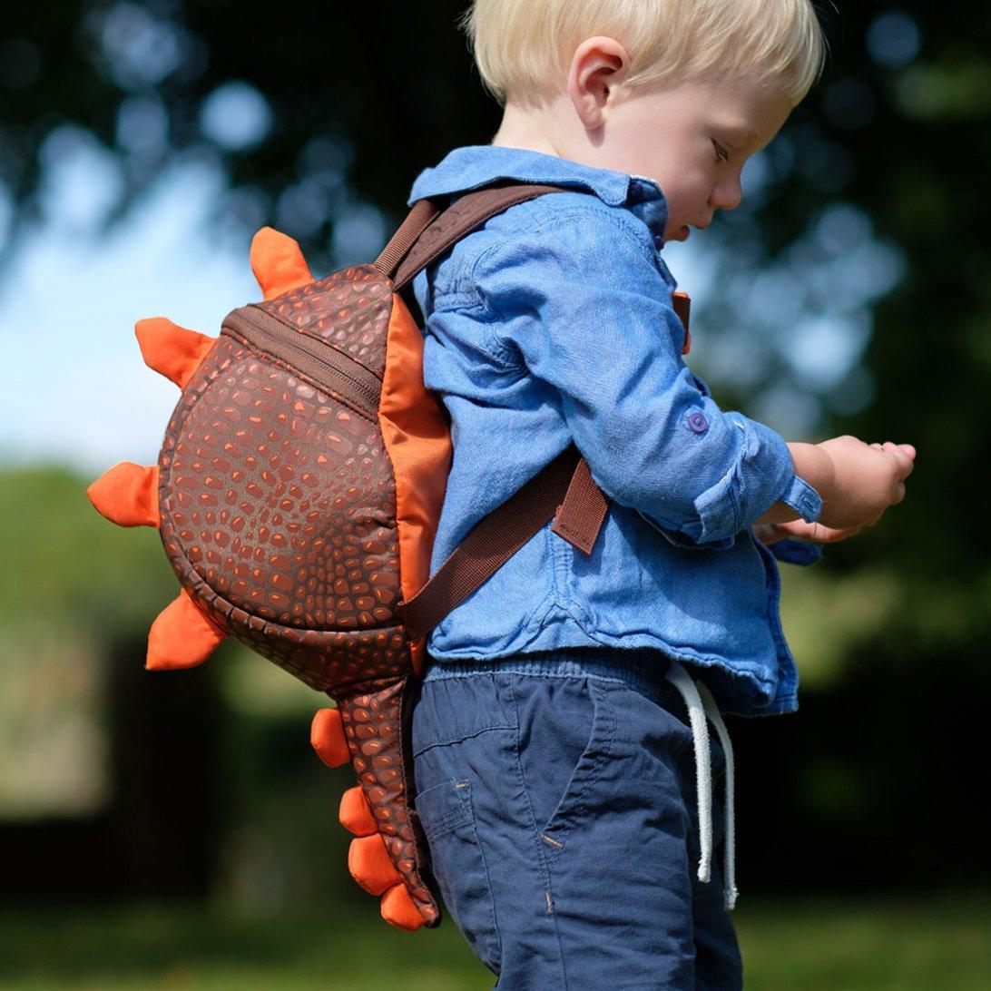 Laste seljakott turvarihmaga LittleLife Dino