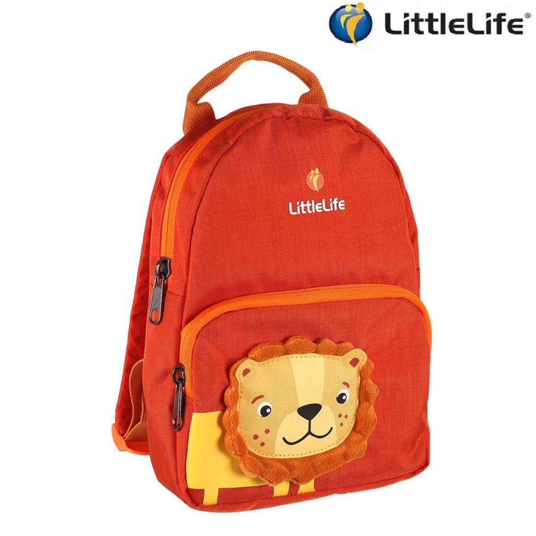 Laste Seljakott LittleLife Face Lion