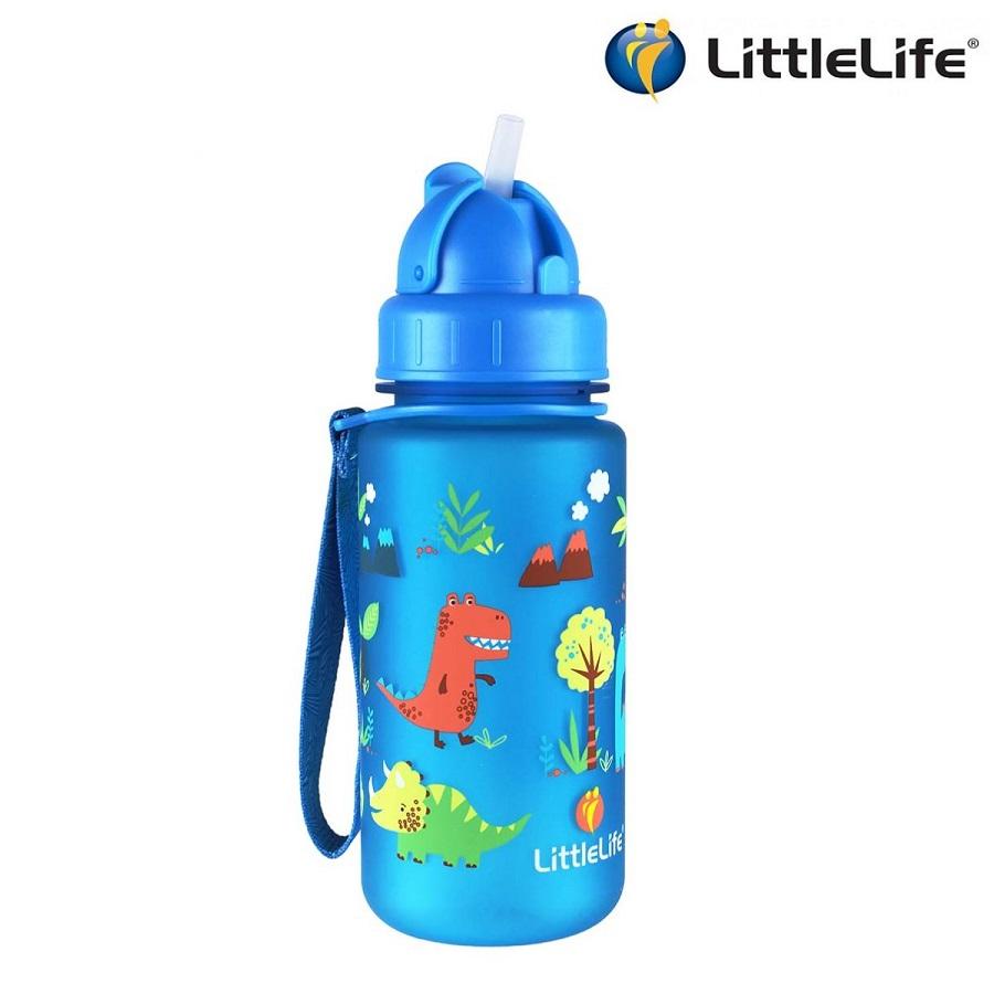 Laste joogipudel Littlelife Dino Sinine