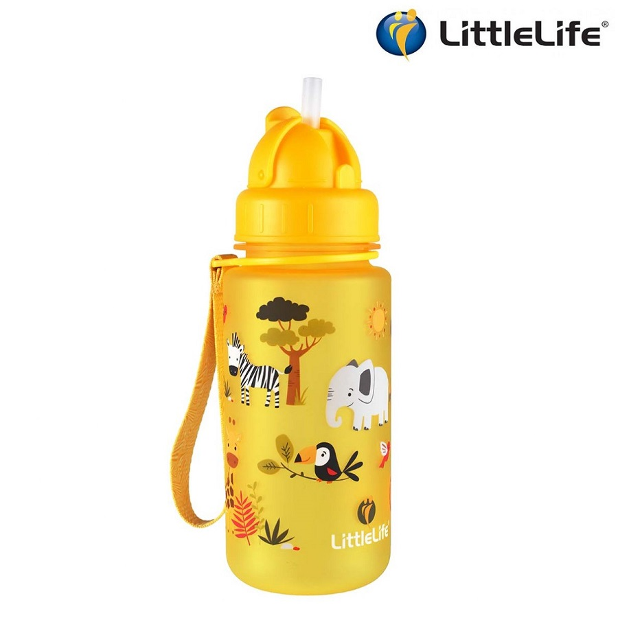 Laste joogipudel Littlelife Safari Kollane