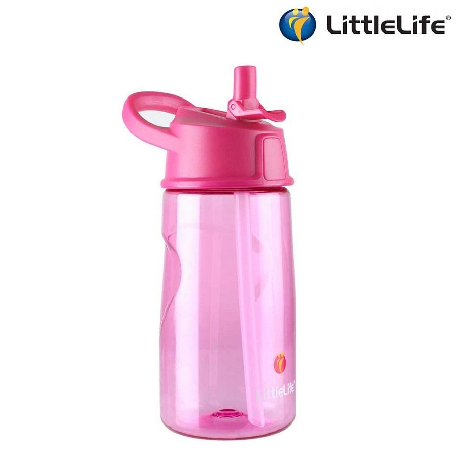 Laste joogipudel Littlelife Roosa 0,5 liitrit