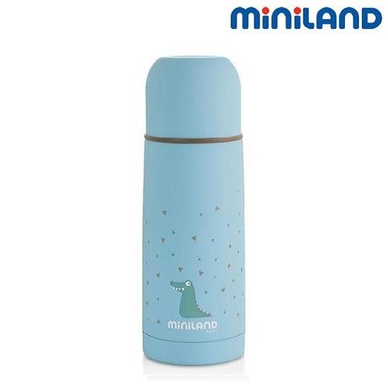 Joogitermos lastele Miniland Silky helesinine