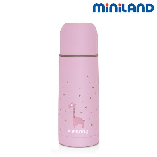 Joogitermos lastele Miniland Silky roosa