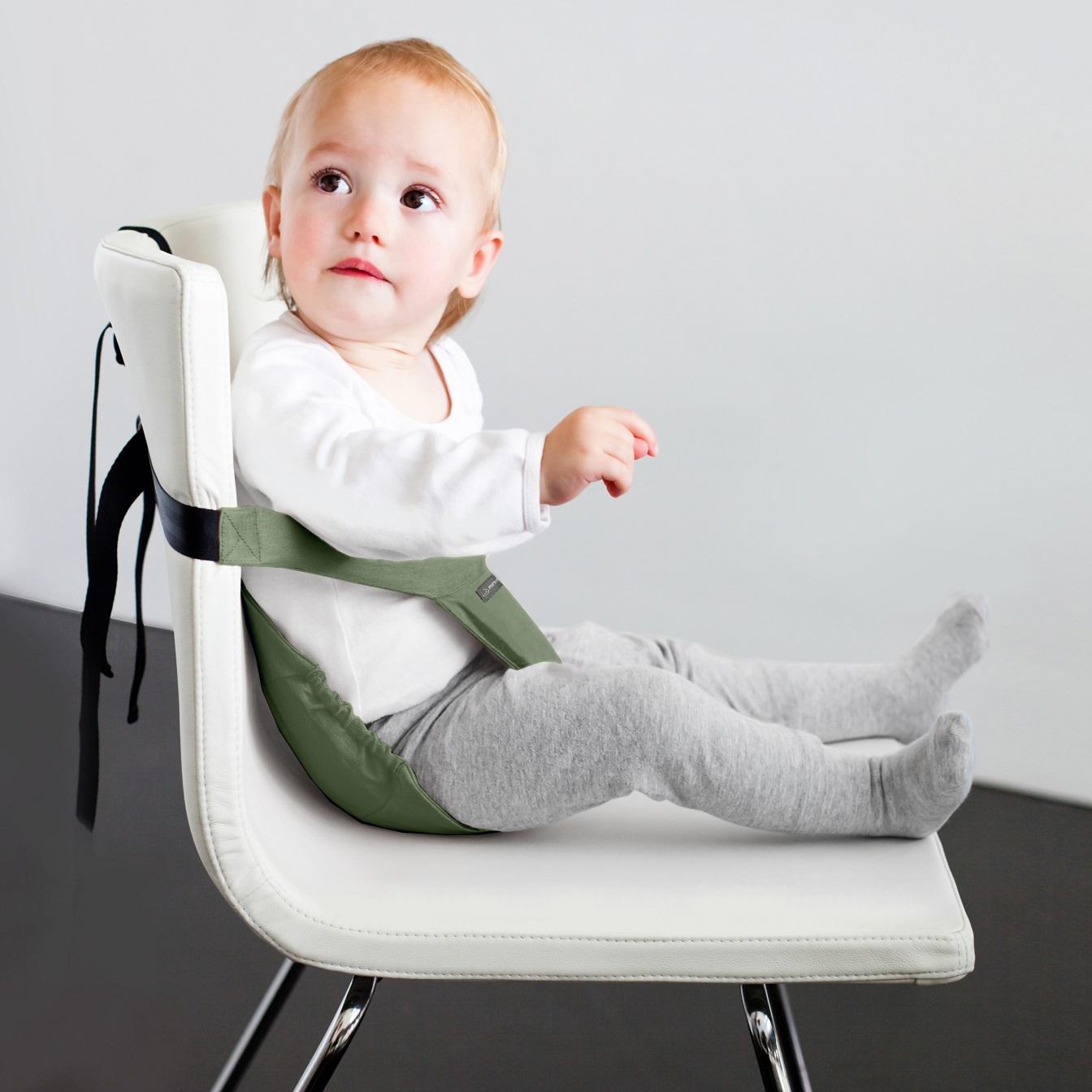 Kangast söögitool Minimonkey Minichair Army green