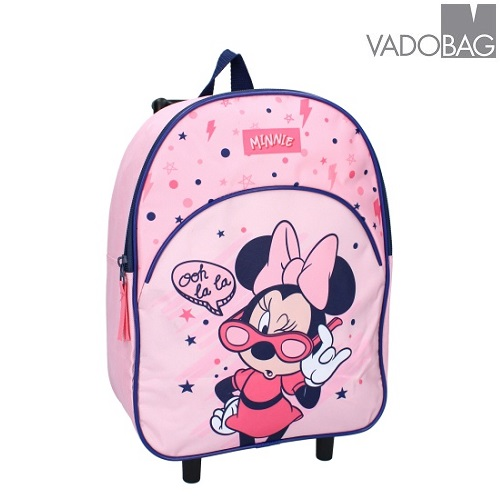 Barnresväska Minnie Mouse Cool Girl Vibes rosa