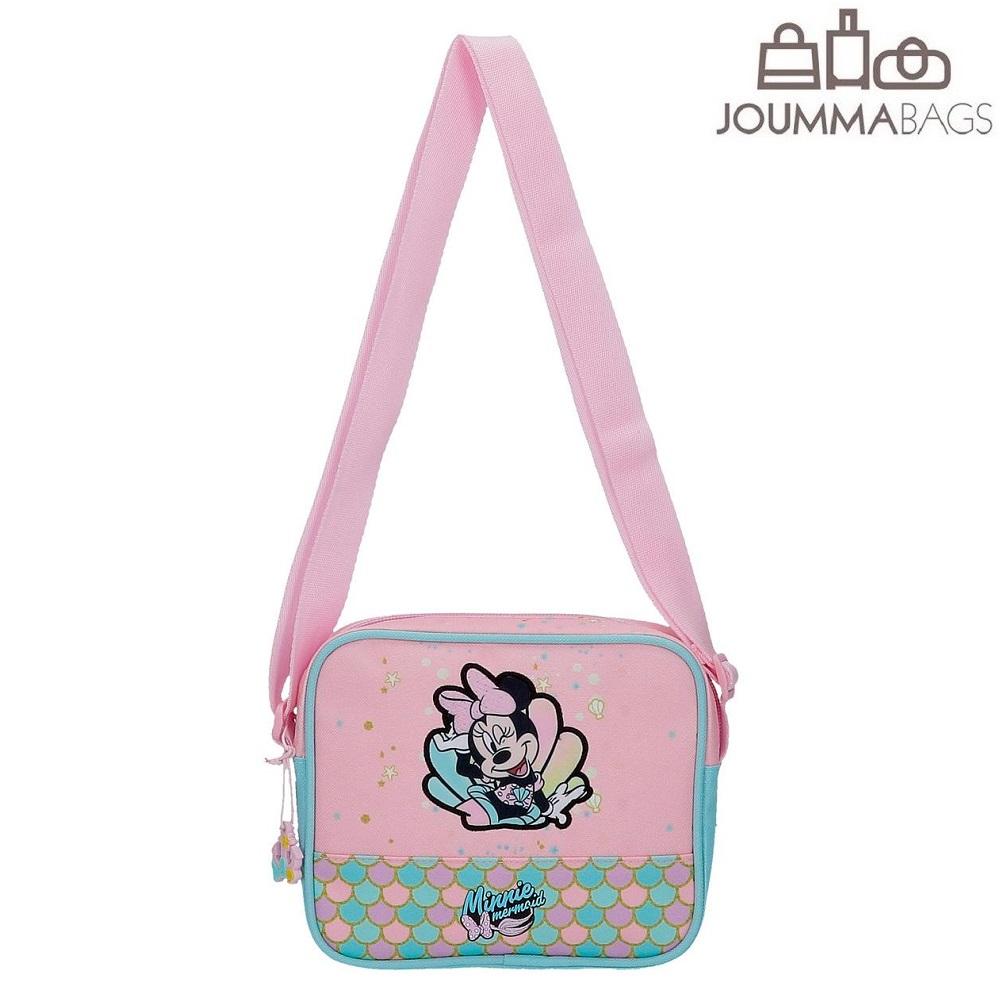 Laste Õlakott Minnie Mouse Mermaid roosa