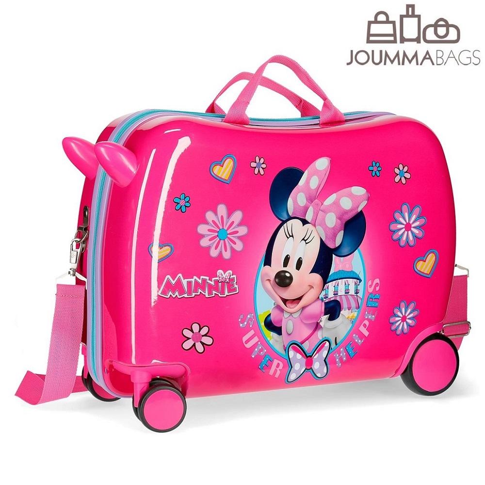 Resväska för barn att åka på Minnie Mouse