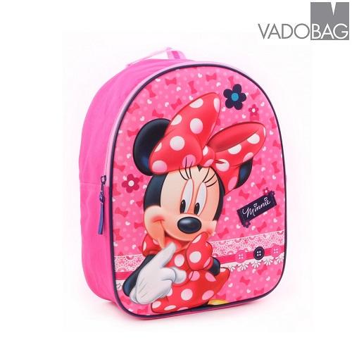 Laste seljakott Minnie Mouse 3D roosa