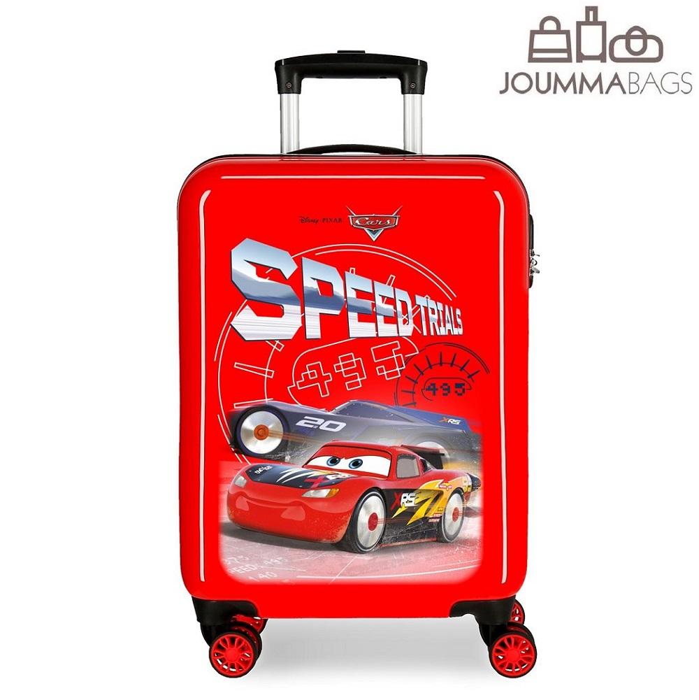 Resväska barn Bilar röd