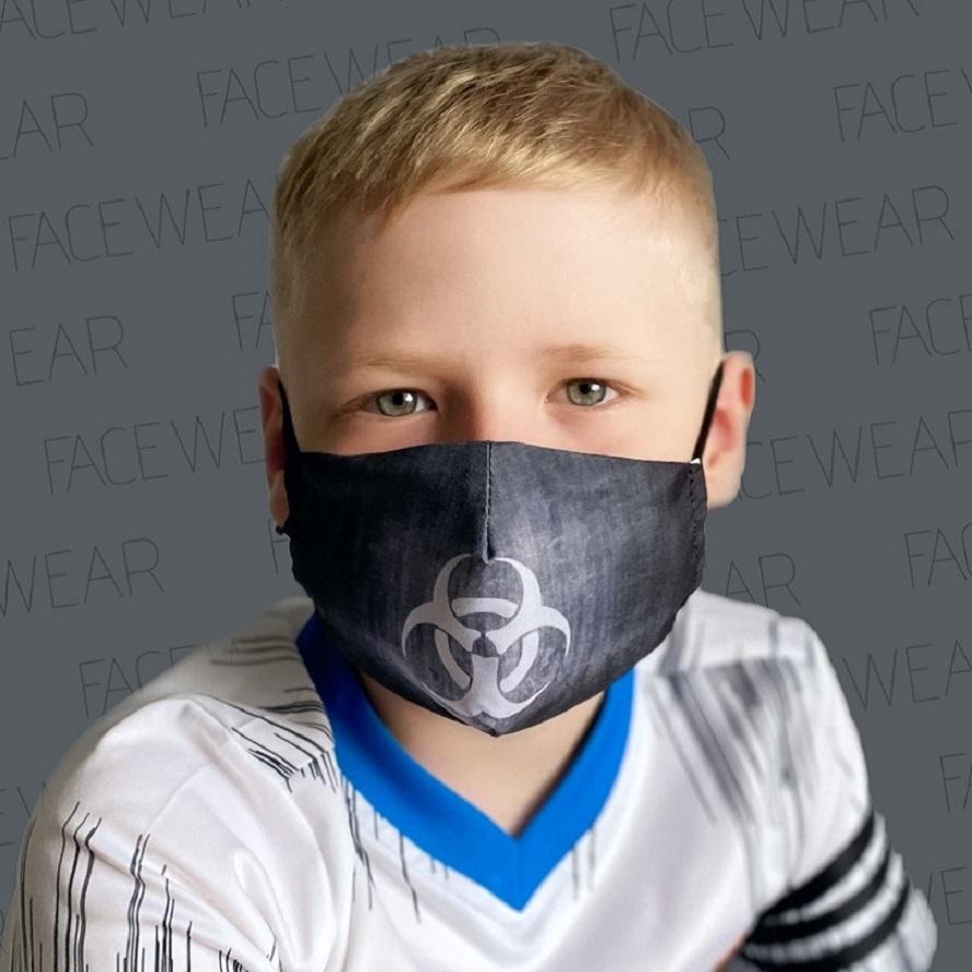 Näomask lastele Facewear Hazard