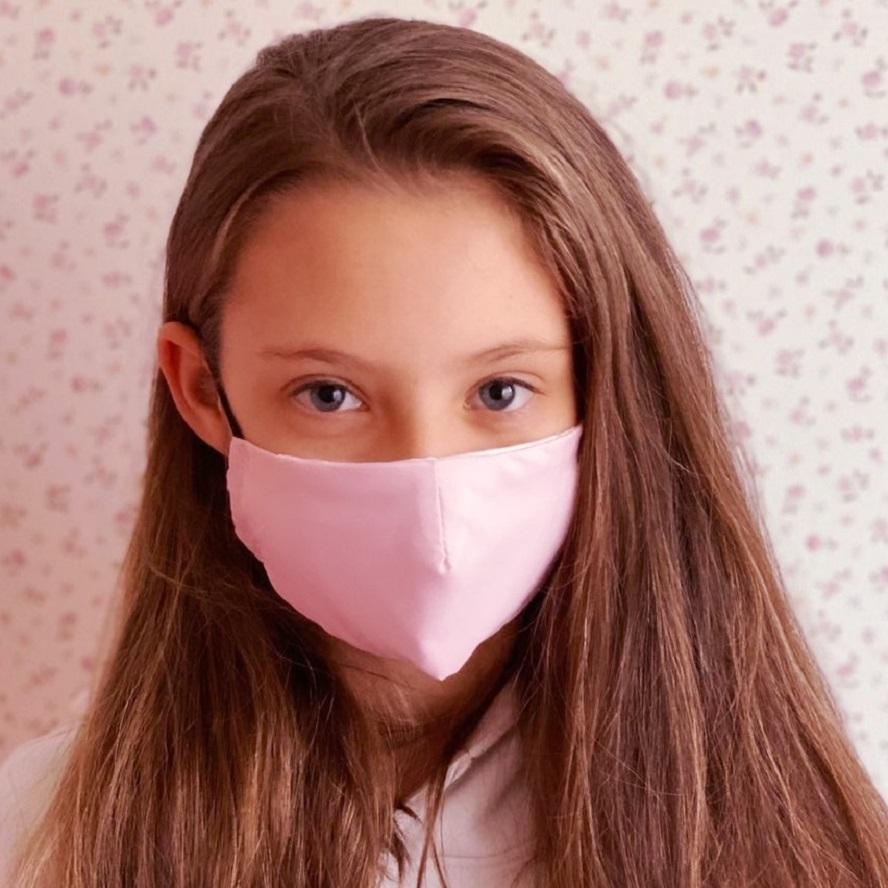 Näomask lastele Facewear roosa