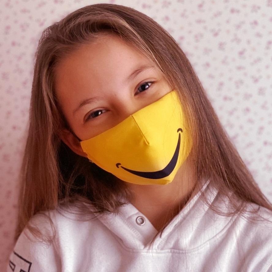 Näomask lastele Facewear Smile