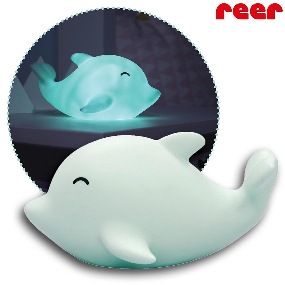 Nattlampa barn Reer Sea Life Delfin