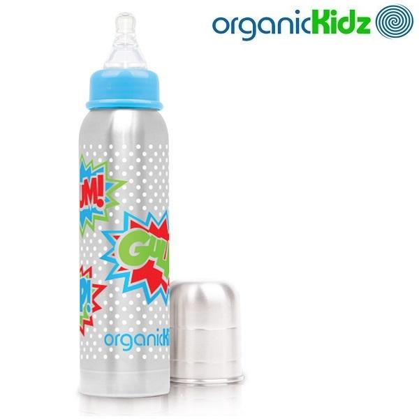 Termos-lutipudel lastele OrganicKidz Bam 270 ml
