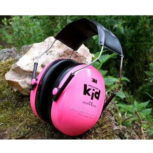 Laste kõrvakaitsed 3M Peltor Kid Roosa