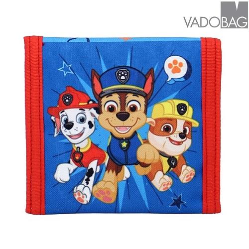 Plånbok barn Paw Patrol Teamwork röd och blå