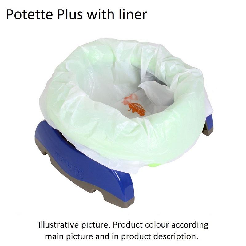 Kaasaskantav pissipott ja prill-laud Potette Plus