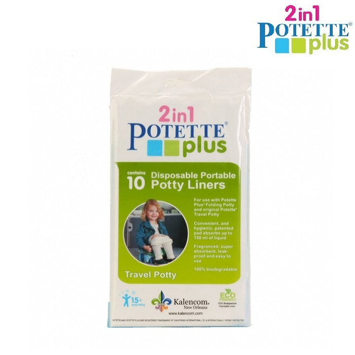 Ühekordsed hügieenikotid Potette Plus 10 tk