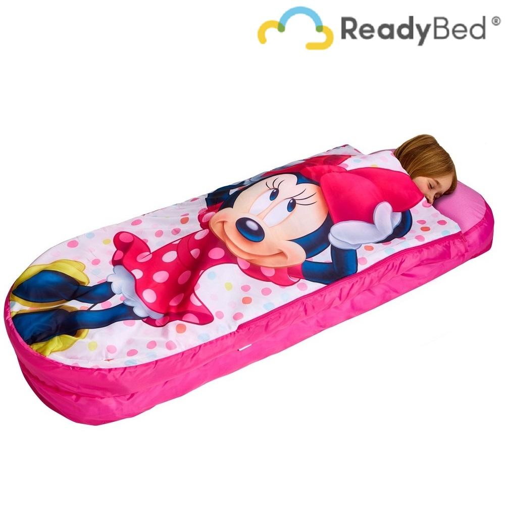 Täispuhutav reisivoodi ReadyBed Junior Minnie Mouse